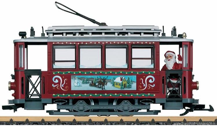 LGB 72351 Christmas Streetcar Starter Set