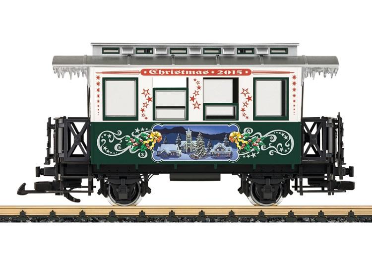 LGB 36072 Christmas Passenger Coach for 2015