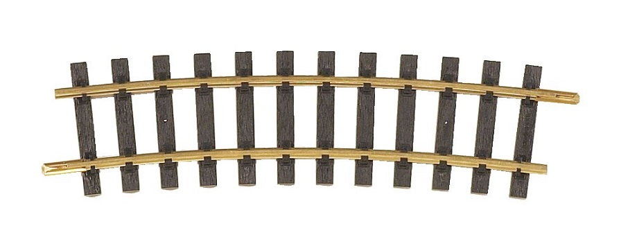 PIKO 35217 Brass R7, 15-Degrees Curve Track