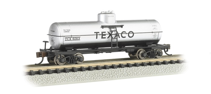 Bachmann 17854 N-Scale Texaco Single-Dome Tank Car