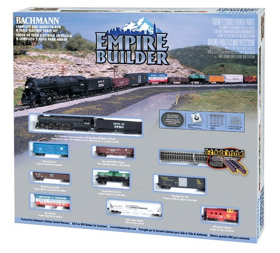 Bachmann 24009 N-Scale Empire Builder Set