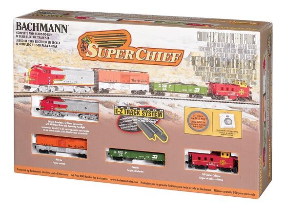 Bachmann 24021 N-Scale Super Chief Set
