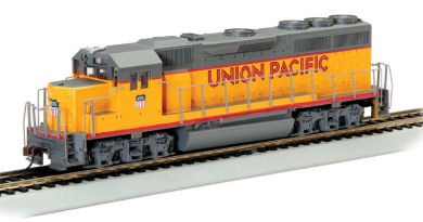 Bachmann 63551 N-Scale GP40 Union Pacific Diesel Locomotive