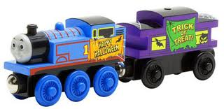 98056LC Halloween Thomas and Caboose