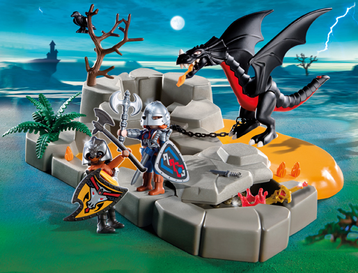 Playmobil 4006 Dragon's Lair Super Set