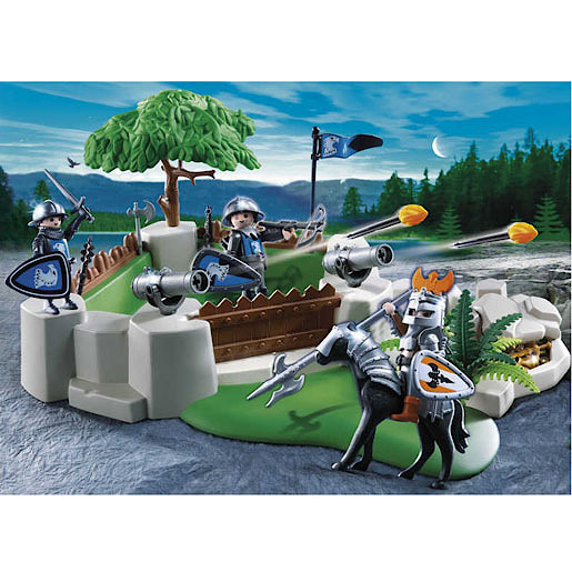 Playmobil 4014 Knight's Fort Super Set