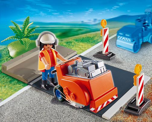 Playmobil 4044 Asphalt Cutter