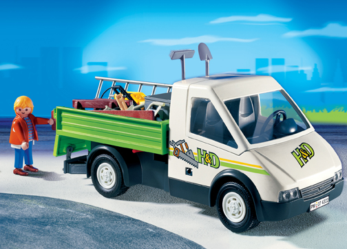 Playmobil 4322 Handyman Construction Truck