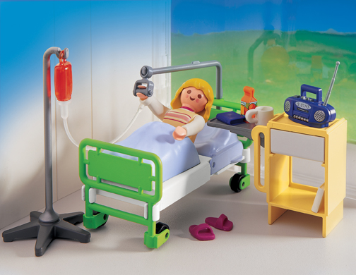 Playmobil 4405 Hospital Room