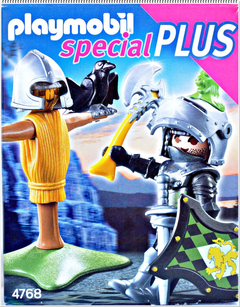 Playmobil 4768 Lion Knight with Training Dummy