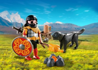 Playmobil 4769 Barbarian and Dog with Campfire
