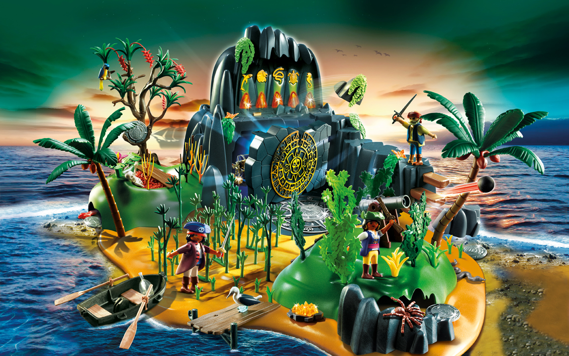 5134PM Playmobil Pirate Adventure Island