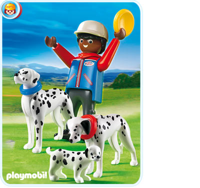 5212PM Playmobil Dalmatians with Puppy