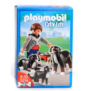 5214PM Playmobil Mountain Dogs with Puppy