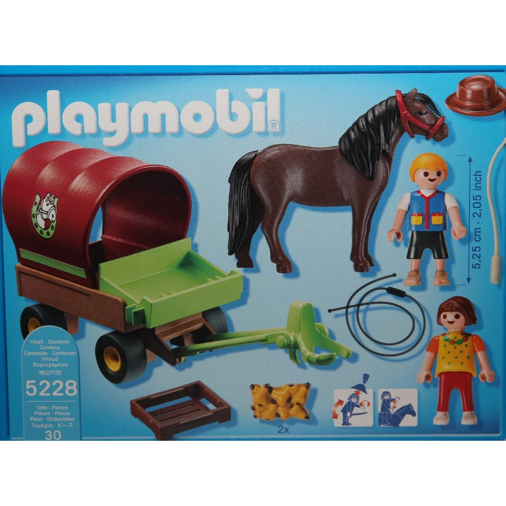 5228PM Playmobil Children Pony Wagon