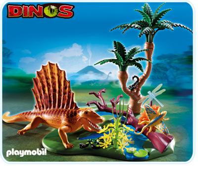 Playmobil 5235 Dimetrodon Dinosaur