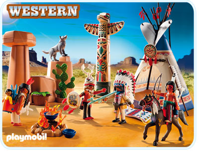 Playmobil 5247 Native American Camp