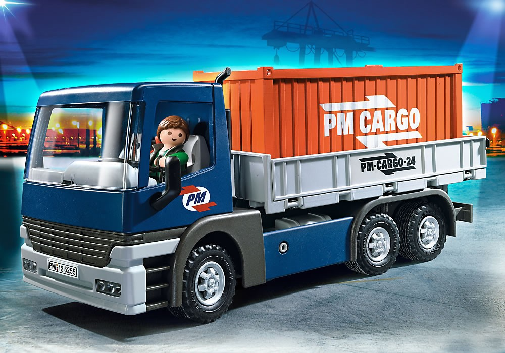 5255PM Playmobil Truck with Container Load