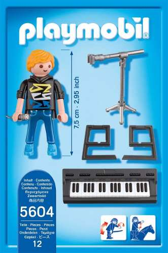5604PM Playmobil Pop Star Keyboarder
