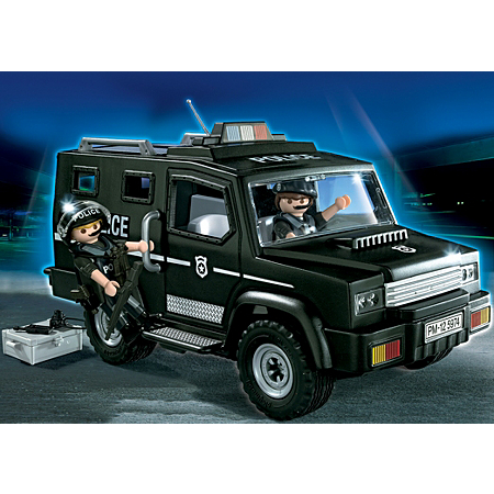 5974PM Playmobil Police Tactical Unit Car
