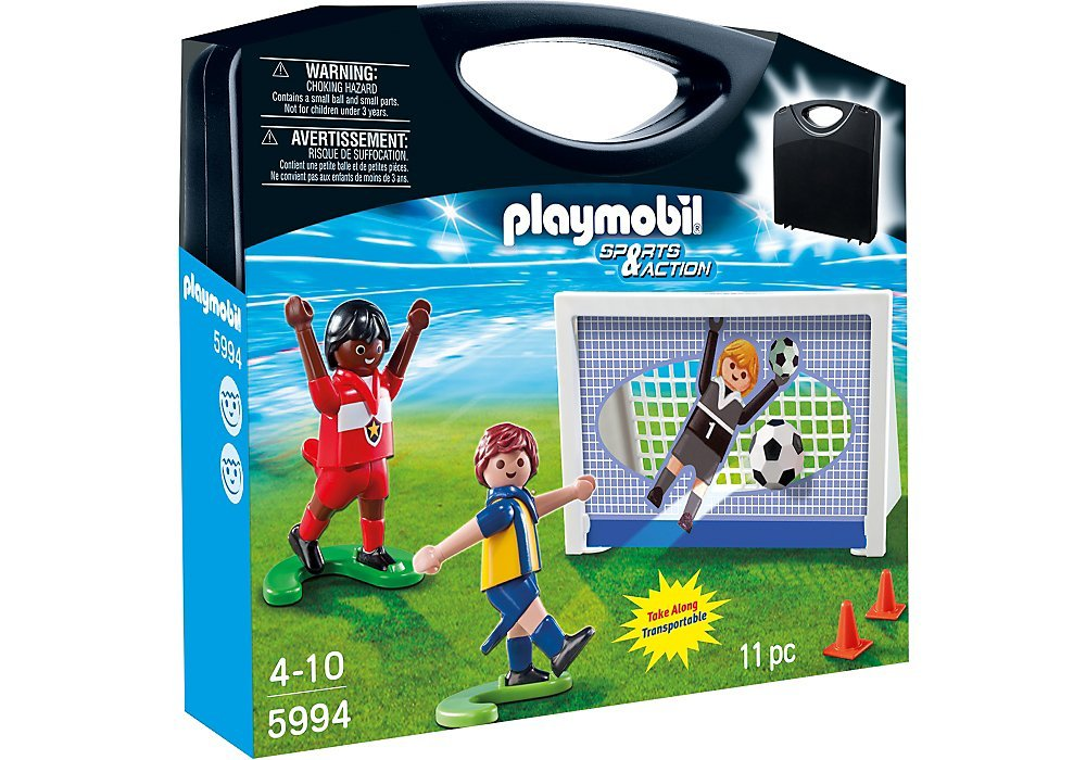 5994PM Playmobil Take Along Soccer Set