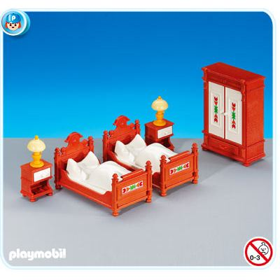 6222PM Playmobil Bed Room Furniture