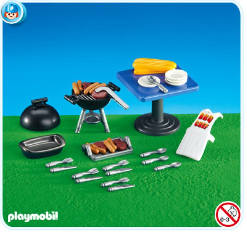 6245PM Playmobil BBQ