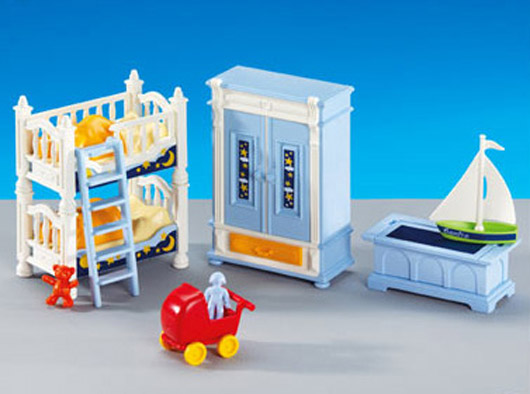 6250PM Playmobil Children Bed Room Furniture