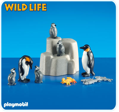 6259PM Playmobil 2 Penguins with Babies