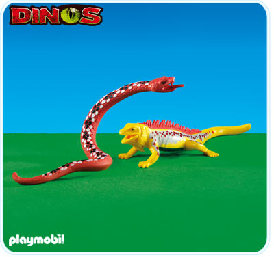 Playmobil 6261 Boa Constrictor and Lizard