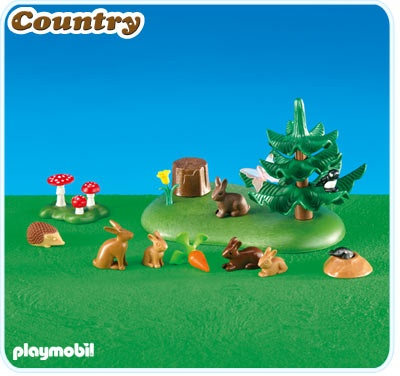 Playmobil Small Woodland Animals