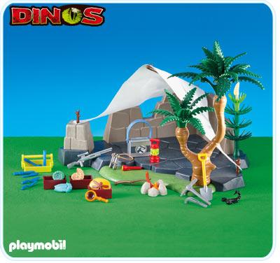 Playmobil 6268 Explorer Campsite