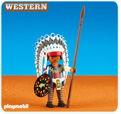 Playmobil 6271 Native American Chief