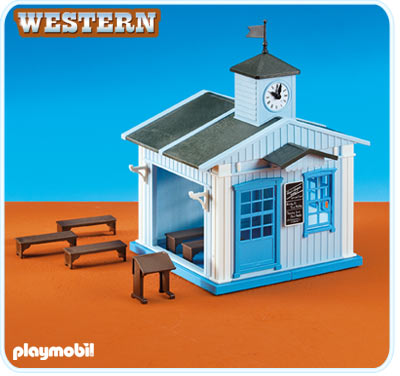 Playmobil 6279 Western School House