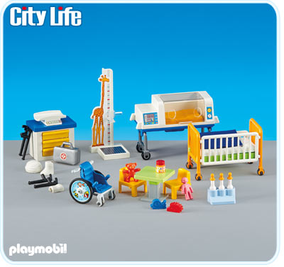 6295PM Playmobil Children Medical Area