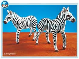 7036PM Playmobil 2 Zebras
