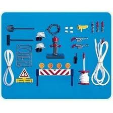 7191PM Playmobil Fire Rescue Equipment