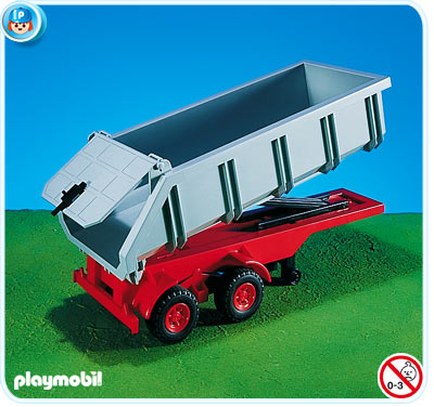 Playmobil 7197 Dumpster Trailer