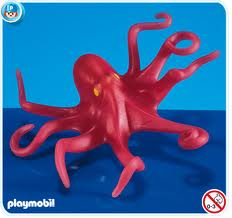 7252 Playmobil Octopus