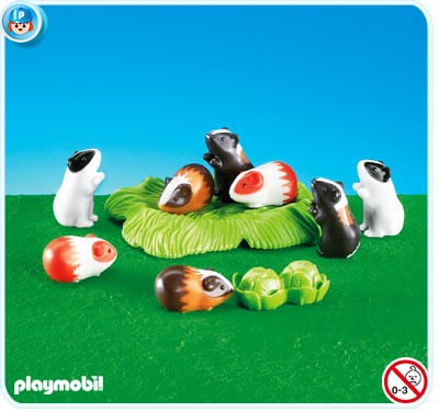 7362PM Playmobil 8 Guinea Pigs