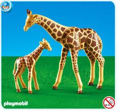 7364PM Playmobil Giraffe with Baby