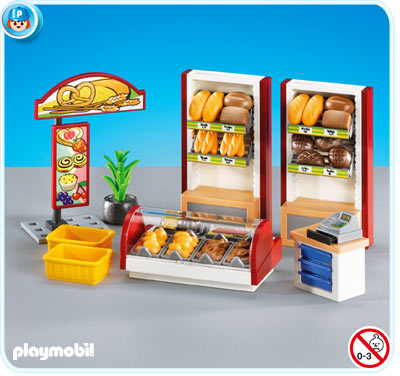 7456PM Playmobil Bakery Interior