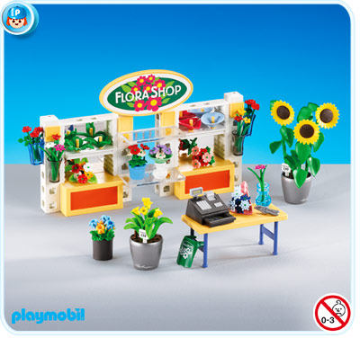 7456PM Playmobil Flower Shop Interior