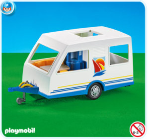 7503PM Playmobil Camper Trailer