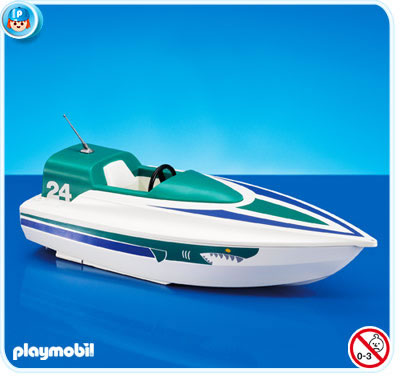 7519PM Playmobil Speed Boat
