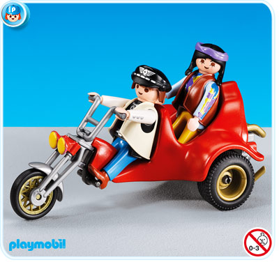 7528PM Playmobil Trike Motorcycle