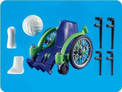 7600PM Playmobil Wheel Chair Crutches Cast