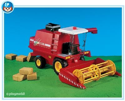 7645PM Playmobil Harvester Tractor