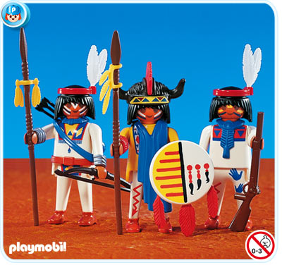 Playmobil 7659 Three Native Americans