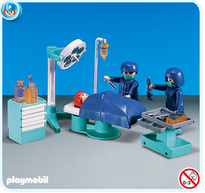 7682PM Playmobil Operating Room Accessories